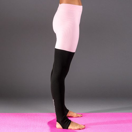 leggings bicolore fitness yogashion