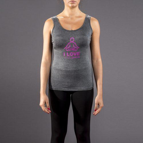 canotta fitness stampa buddha yogashion