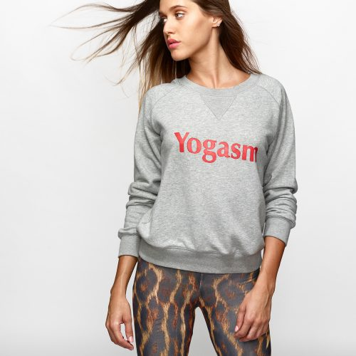 felpa fitness Yogashion yogasm
