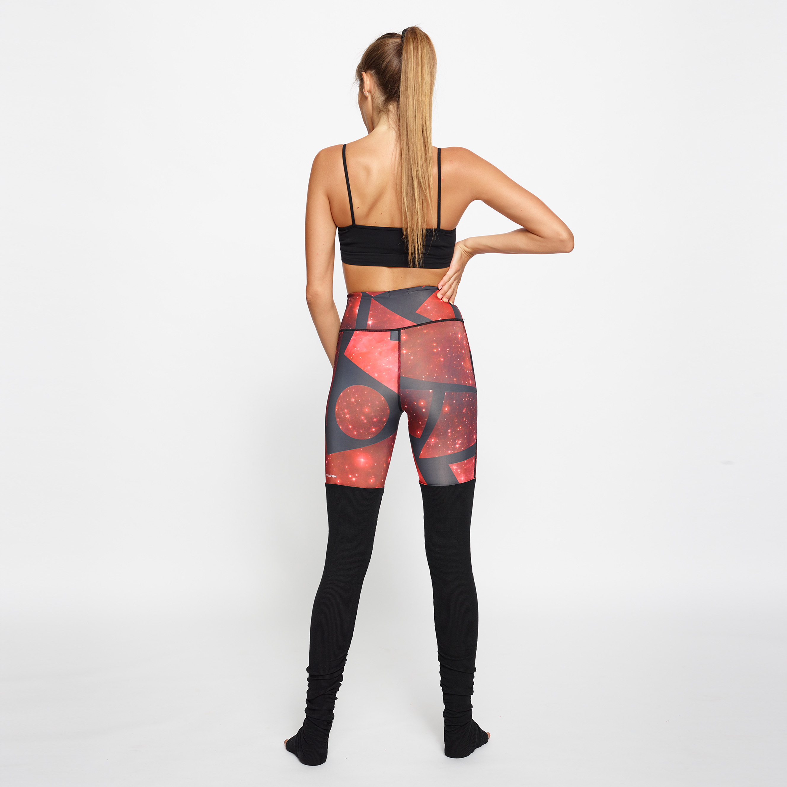 leggings fitness Yogashion stampa cosmo