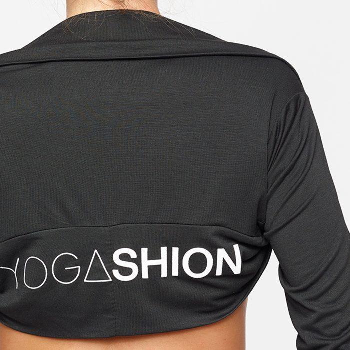 Coprispalla fitness a manica lunga yogashion