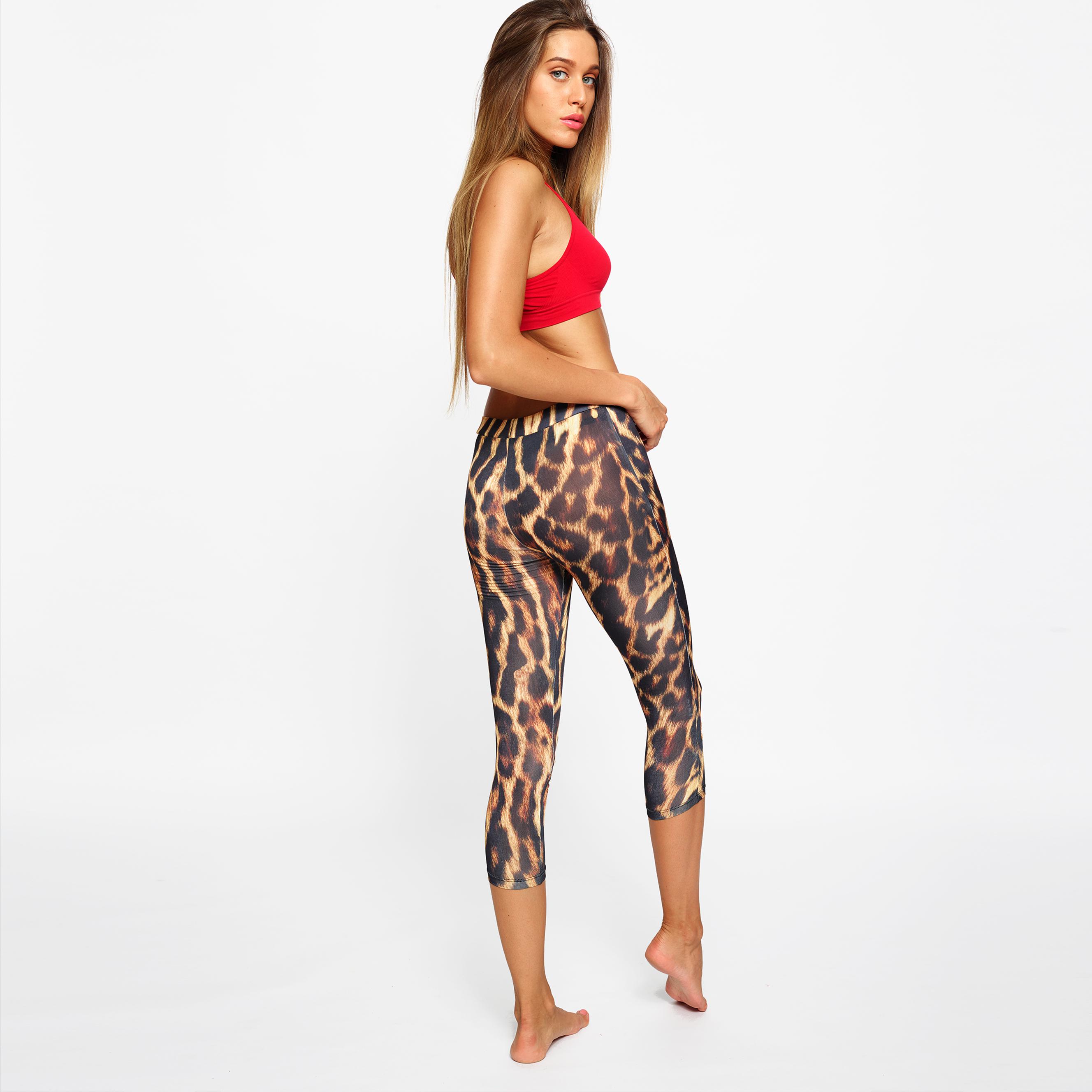 leggings fitness Yogashion stampa animalier
