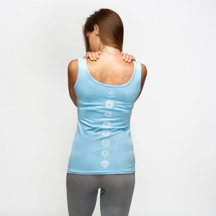 canotta fitness in viscosa yogasm yogashion